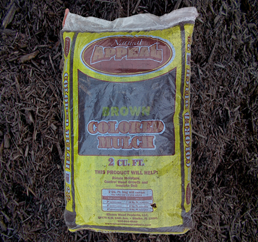 Bagged Brown Mulch