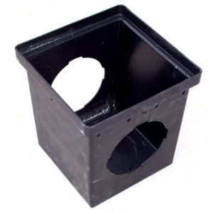 Basin 12″ Square – 2 Hole