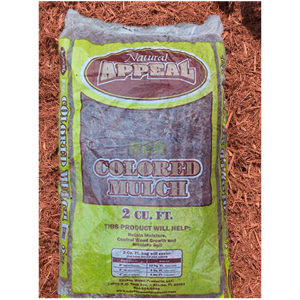 Bagged Red Mulch