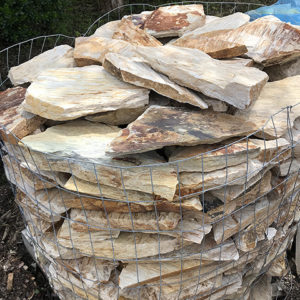 Cherry Log Building Stone