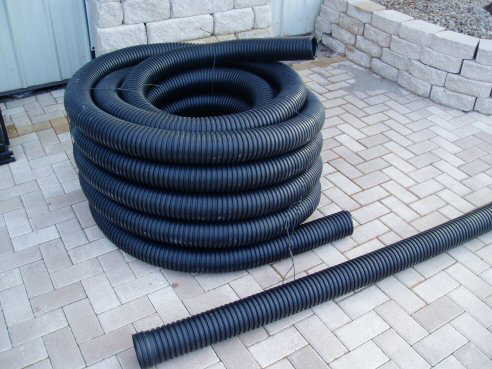 4″ Drainpipe Solid – 100 Ft Roll in.