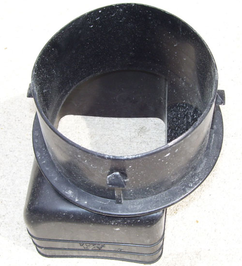 4″ Downspout Adapter 3 in. x 4.25 in. to 4 in.