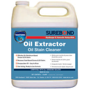 Surebond Oil Extractor