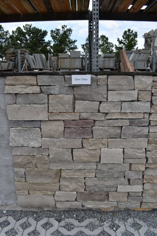 Natural thin veneer stack stone.