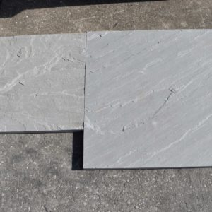 "Grey Natural Cleft stone tile 1"" thick"