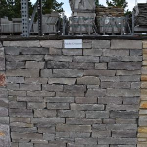 Natural thin veneer stack stone