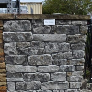 Blue/Grey Tumbled Natural Stone Thin Veneer