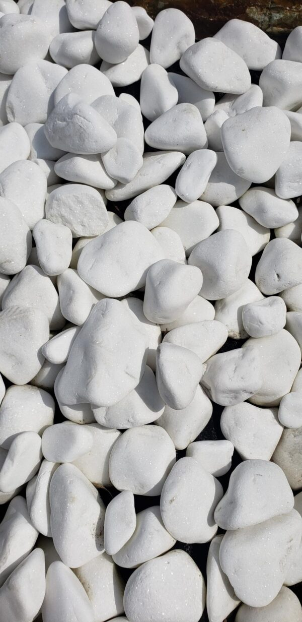 white smooth marble stone from Greece