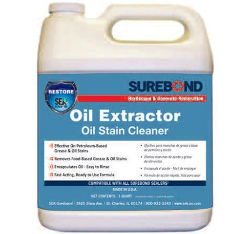 Surebond Oil Extractor