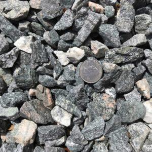 #5 grey granite gravel