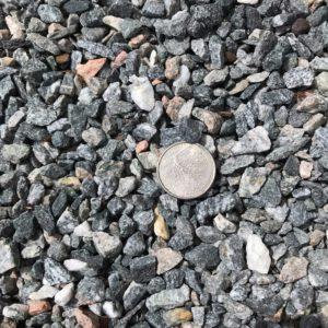 """3/8"""" grey granite gravel 89 size"""