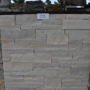 Natural thin veneer stack stone.
